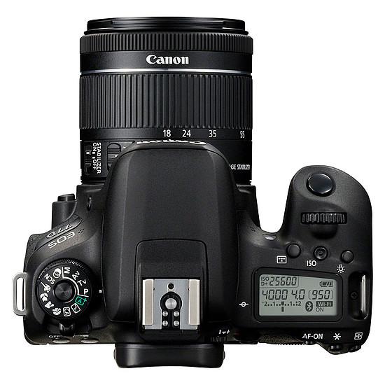 Appareil photo Reflex Canon EOS 77D + 18-55 IS STM + Tamron AF 70-300mm F/4-5,6 Di LD MACRO 1:2 - Autre vue