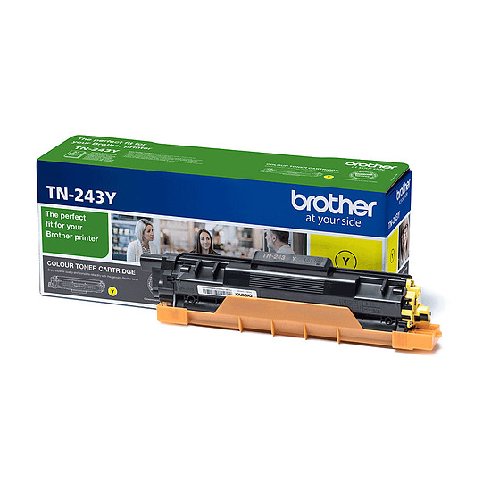 Toner imprimante Brother TN-243Y
