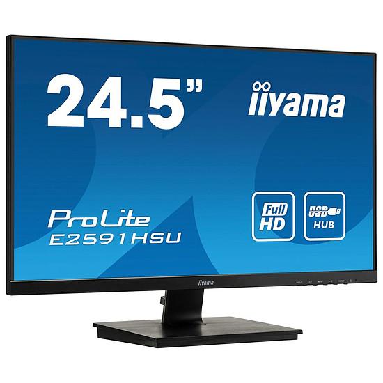 Écran PC Iiyama E2591HSU-B1 - Autre vue