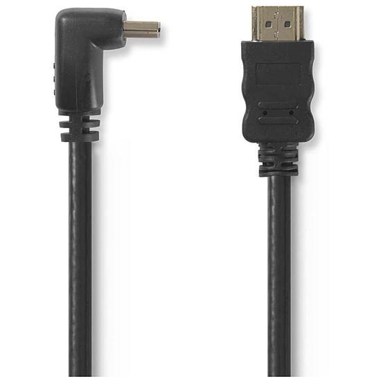 HDMI NEDIS Câble HDMI coudé à 270° haute vitesse avec Ethernet Noir (1.5 mètre) - Autre vue