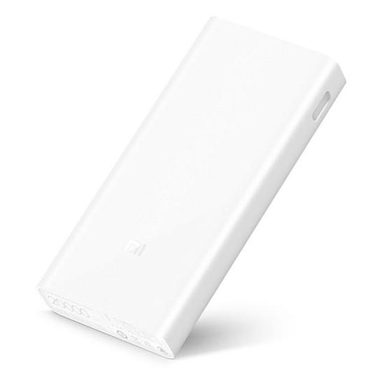 Batterie et powerbank Xiaomi Mi Power Bank 2C (blanc) - 20000 mAh