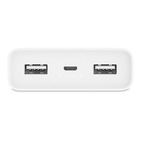 Batterie et powerbank Xiaomi Mi Power Bank 2C (blanc) - 20000 mAh - Autre vue