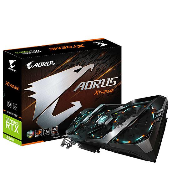 Carte graphique Gigabyte Aorus GeForce RTX 2080 Ti Xtreme