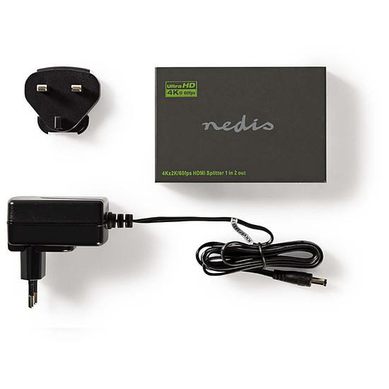 HDMI Nedis Splitter HDMI 4K à 60Hz - 2 ports - Autre vue
