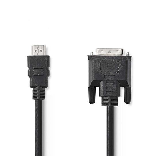 HDMI NEDIS Câble HDMI vers DVI (3 mètres)