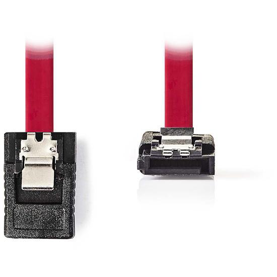 Serial ATA NEDIS Câble SATA coudé avec verrou (50 cm)