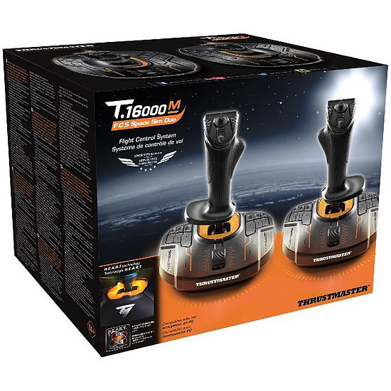 Simulation de vol Thrustmaster T.16000M FCS Space Sim Duo - Autre vue