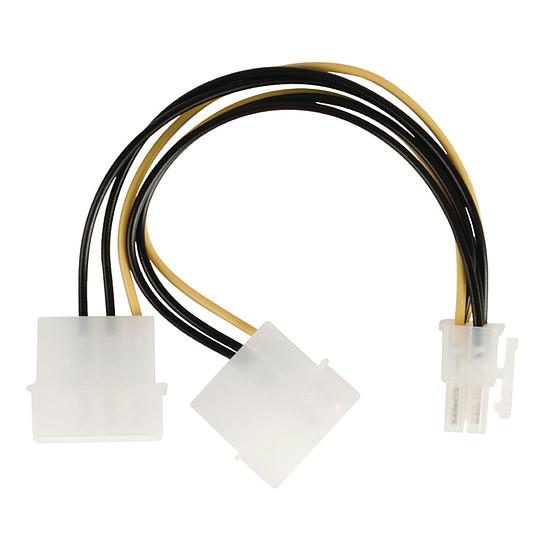 Alimentation NEDIS Adaptateur d'alimentation 2x Molex vers PCI-E 6 Broches