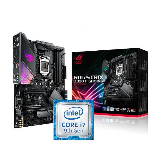 Kit upgrade PC Intel Core i7-9700K + Asus ROG STRIX Z390-F GAMING