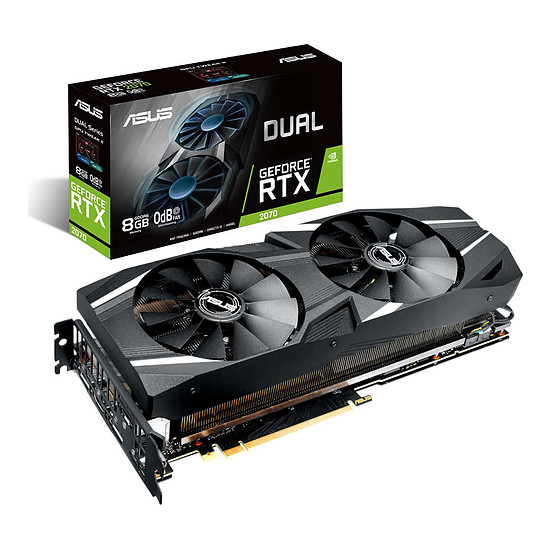 Carte graphique Asus GeForce RTX 2070 Dual