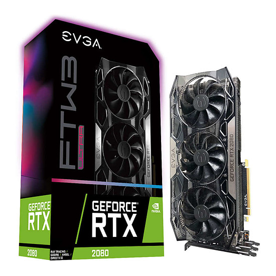 Carte graphique EVGA GeForce RTX 2080 FTW3 ULTRA - 8 Go GDDR6