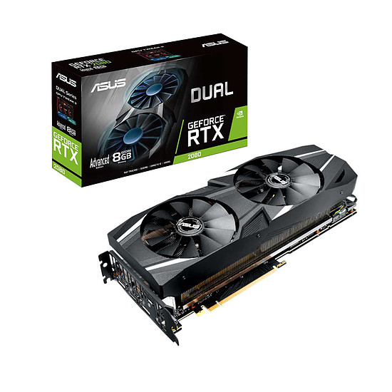 Carte graphique Asus GeForce RTX 2080 Dual A8G - 8 Go