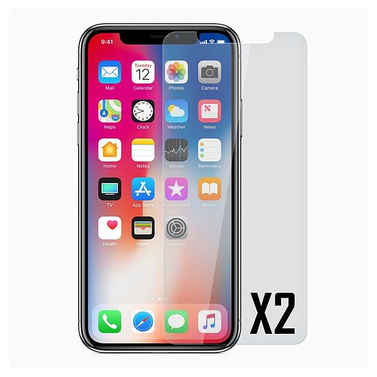 Protection d'écran Akashi Paris Verre trempé (x2) - iPhone Xs Max