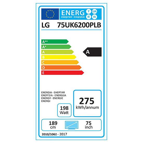 TV LG 75UK6200 TV LED UHD 4K 189 cm - Autre vue