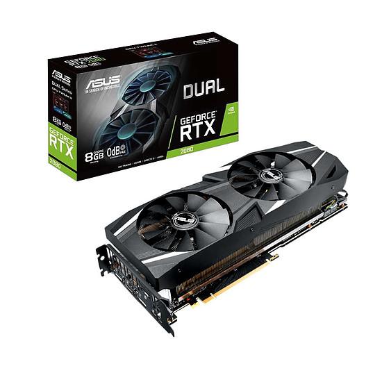 Carte graphique Asus GeForce RTX 2080 Dual - 8 Go