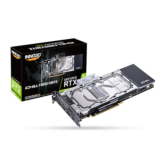 Carte graphique Inno3D GeForce RTX 2080 iCHILL FROSTBITE