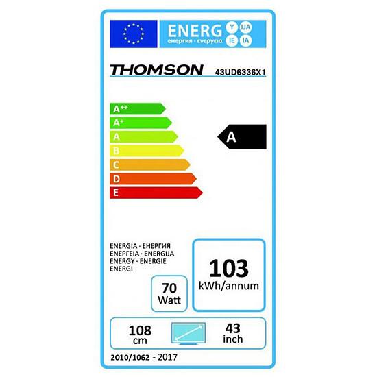TV Thomson 43UD6336 TV LED UHD 4K 108 cm - Autre vue