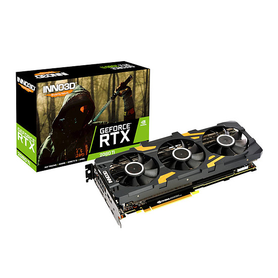 Carte graphique Inno3D GeForce RTX 2080 Ti X3 OC - 11 Go GDDR6