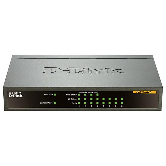 Switch et Commutateur D-Link DES-1008PA