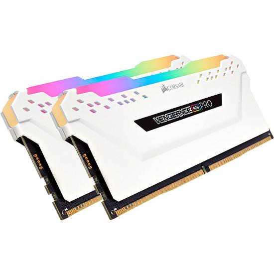 Mémoire Corsair Vengeance RGB PRO Series Blanc - Kit d'éclairage