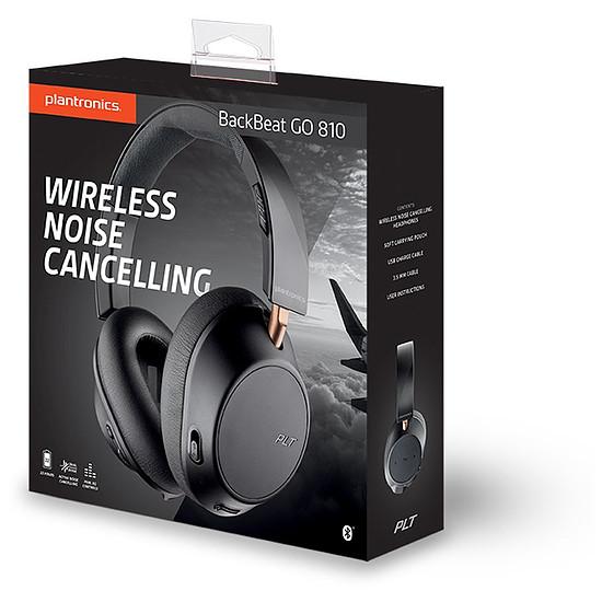 Casque Audio Plantronics BackBeat GO 810 Noir Graphite - Casque sans fil - Autre vue