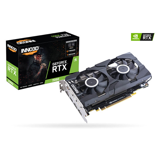 Carte graphique Inno3D GeForce RTX 2060 Twin X2