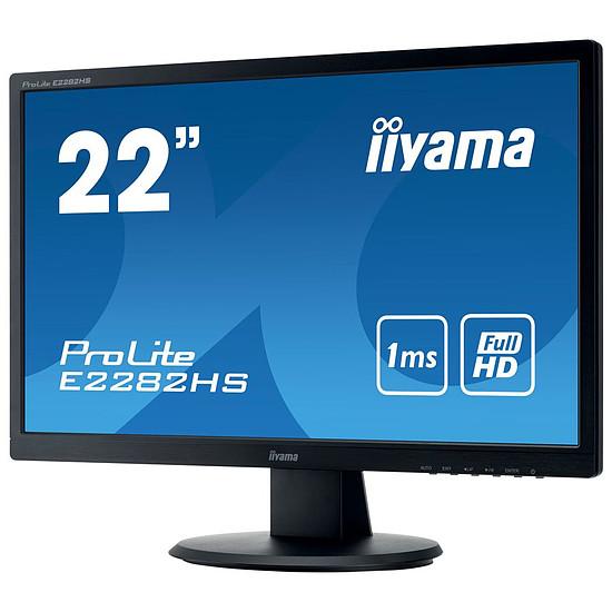 Écran PC Iiyama ProLite E2282HS-B1 - Autre vue