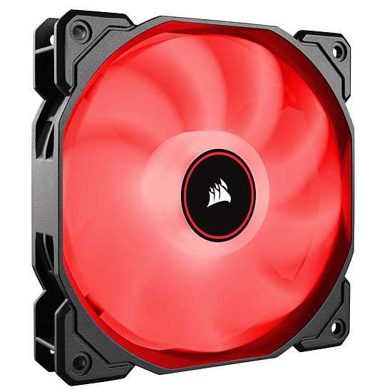 Ventilateur Boîtier Corsair Air Series AF120 Low Noise - Rouge