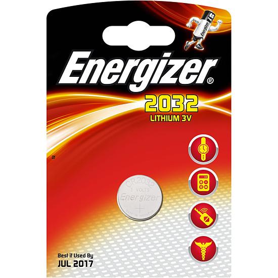 Pile et chargeur Energizer CR2032