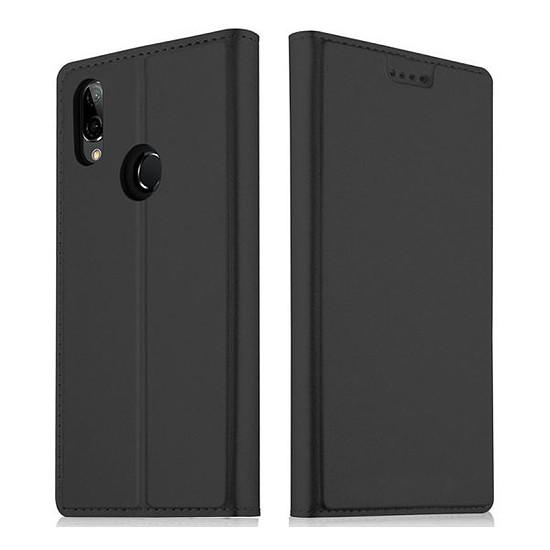 Coque et housse Akashi Etui folio (noir) - Huawei P20 Lite