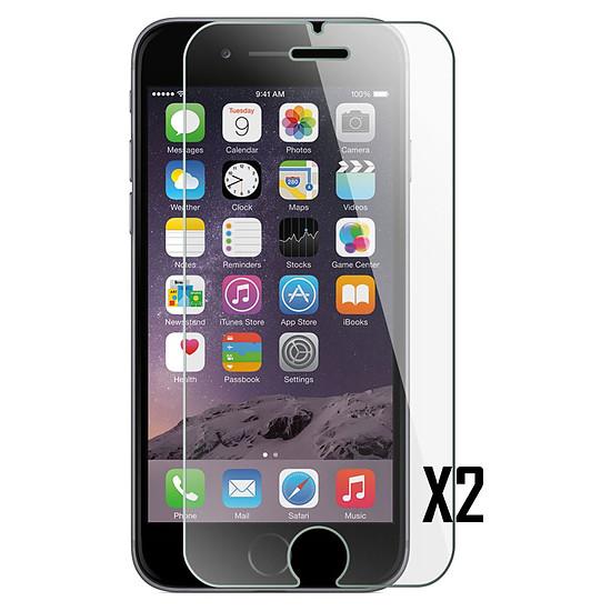 Protection d'écran Akashi Verre trempé (9H) (x2) - iPhone 6 - iPhone 6s