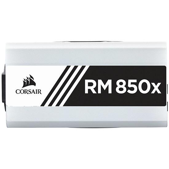 Alimentation PC Corsair RM850x v2 Blanche - Autre vue