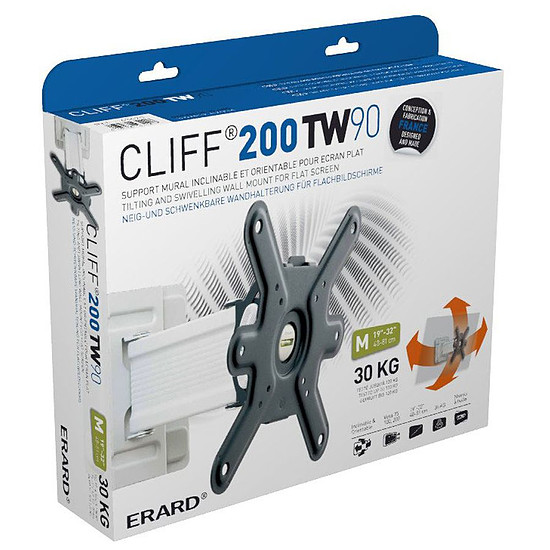 Support TV Erard Cliff 200TW90 (043420) - Autre vue