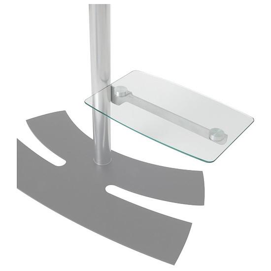 Support TV Erard tablette en verre Lux Up (038400)