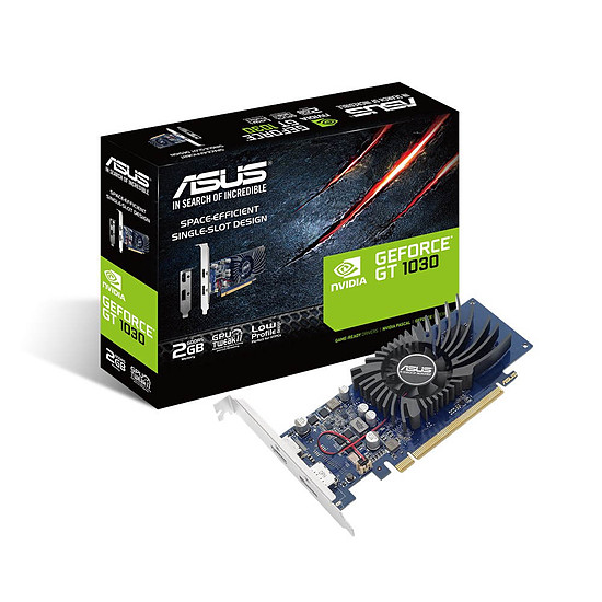 Carte graphique Asus GeForce GT 1030 - 2 Go
