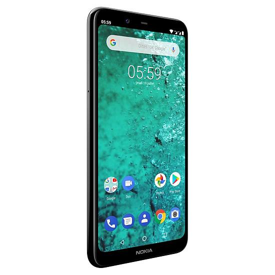 Smartphone et téléphone mobile Nokia 5.1 plus (noir) - 32 Go - 3 Go