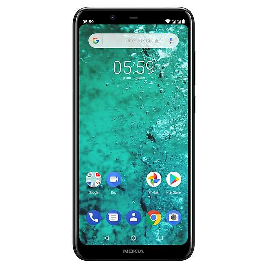 Smartphone et téléphone mobile Nokia 5.1 plus (noir) - 32 Go - 3 Go - Autre vue