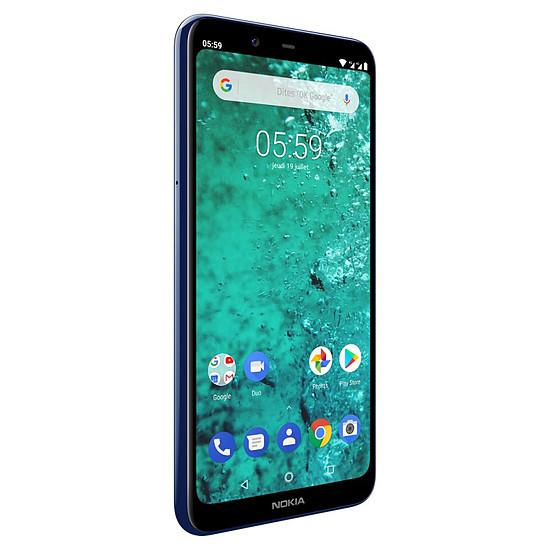Smartphone et téléphone mobile Nokia 5.1 plus (bleu) - 32 Go - 3 Go
