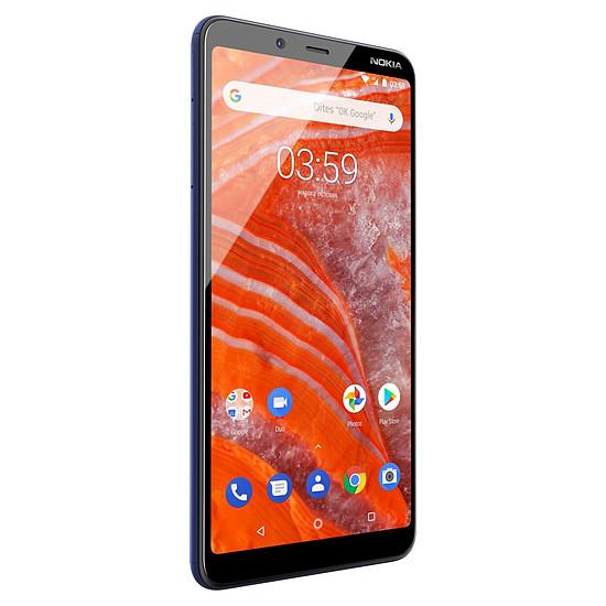 Smartphone et téléphone mobile Nokia 3.1 plus (bleu) - 32 Go - 3 Go