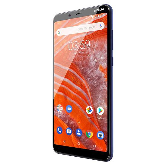 Smartphone et téléphone mobile Nokia 3.1 plus (bleu) - 32 Go - 3 Go - Autre vue