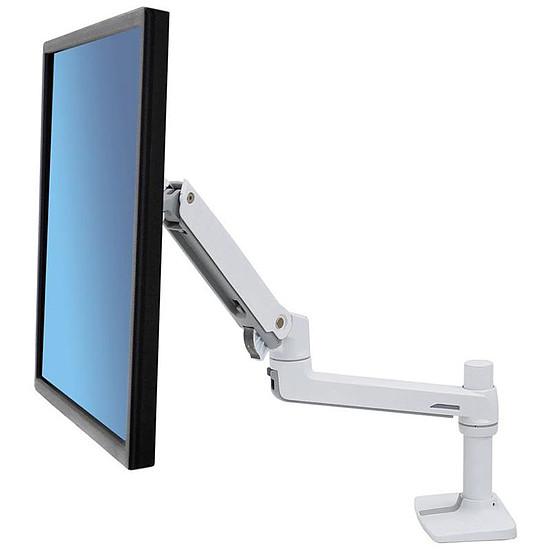 Bras & support écran PC Ergotron LX Desk Arm Blanc