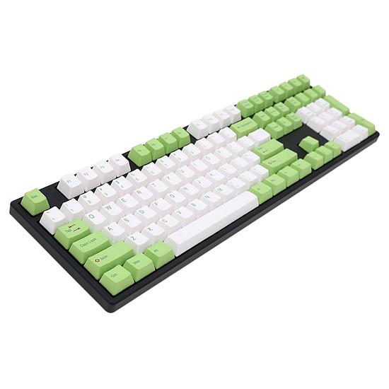 Clavier PC Ducky Channel One - Vert - Cherry MX Brown - Autre vue