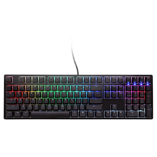 Clavier PC Ducky Channel One RGB - Cherry MX Speed