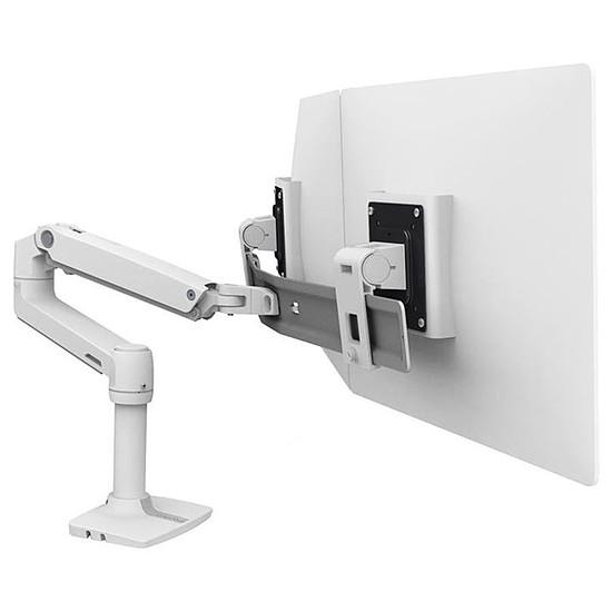 Bras & support écran PC Ergotron  LX Dual Direct Blanc - Autre vue