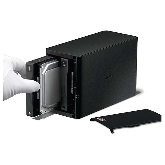 Serveur NAS Buffalo Technology LinkStation 520D - 6 To (2 x 3 To) - Autre vue