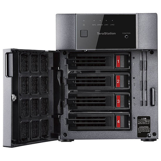 Serveur NAS Buffalo Technology TeraStation 3410DN - 4 To (4 x 1 To) - Autre vue