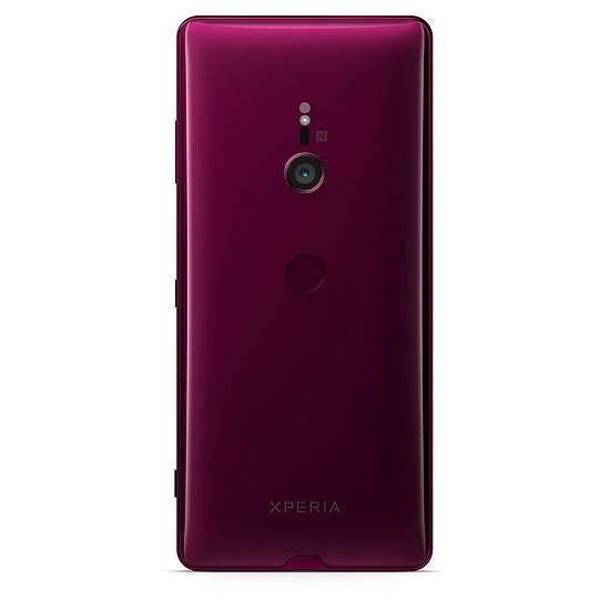 Smartphone et téléphone mobile Sony Xperia XZ3 (bordeaux) - 64 Go - 4 Go - Autre vue