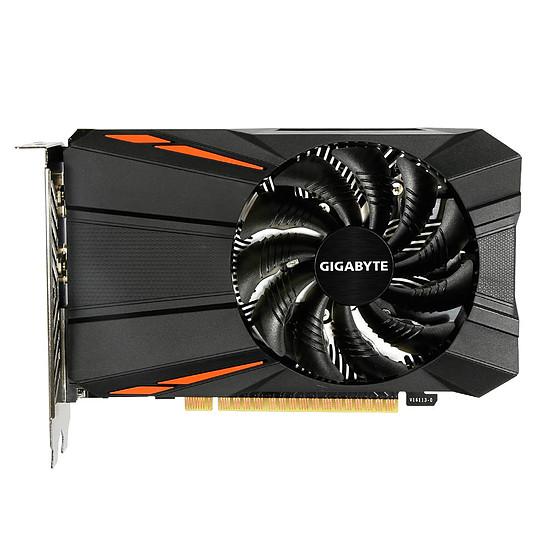 Carte graphique Gigabyte GeForce GTX 1050 Ti D5 - Autre vue