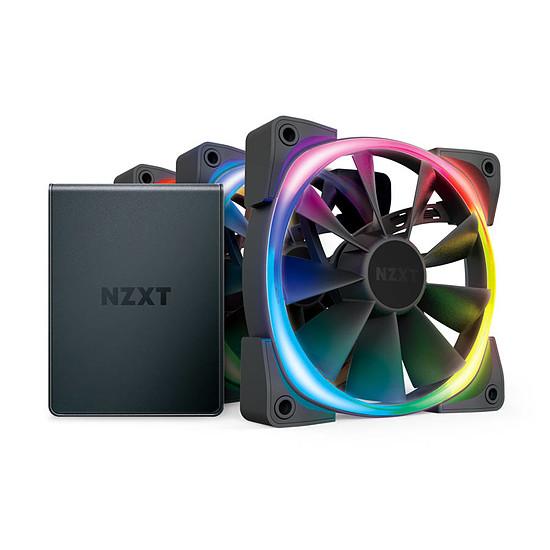 Ventilateur Boîtier NZXT Aer RGB 2 Triple Starter 120 mm