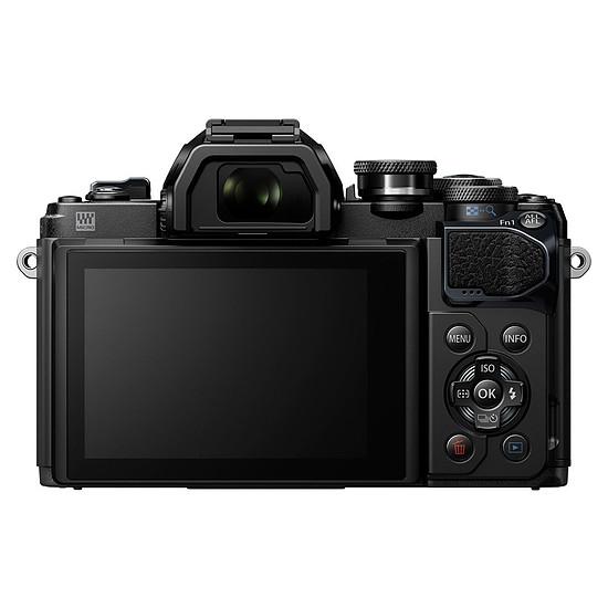Appareil photo hybride Olympus OM-D E-M10 Mark III noir + EZ Pancake 14-42 mm + 40-150 mm R - Autre vue